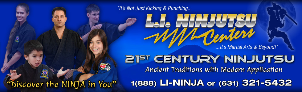 L.I Ninjutsu Centers Website Header