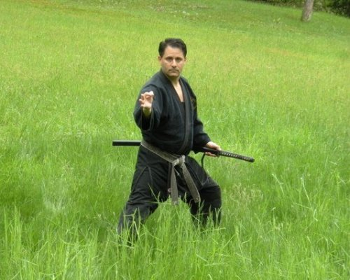 Kyoshi Allie with Katana